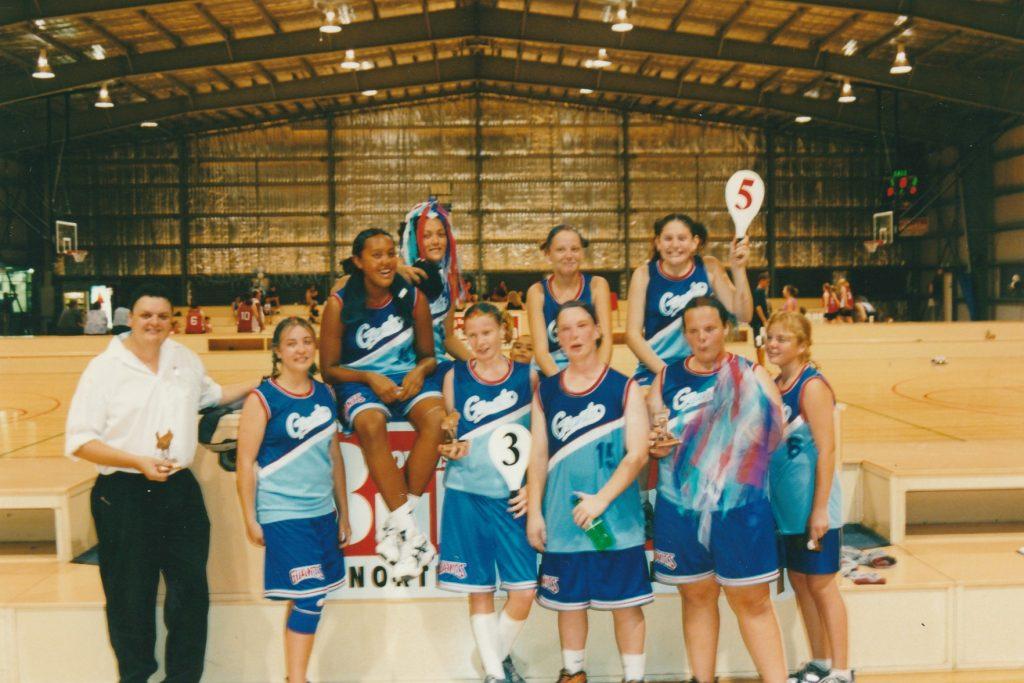 2001 U16G2 Winners
