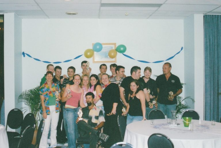 2005 Senior Presentation Townsville Plaza Hotel All Trophy Winners
